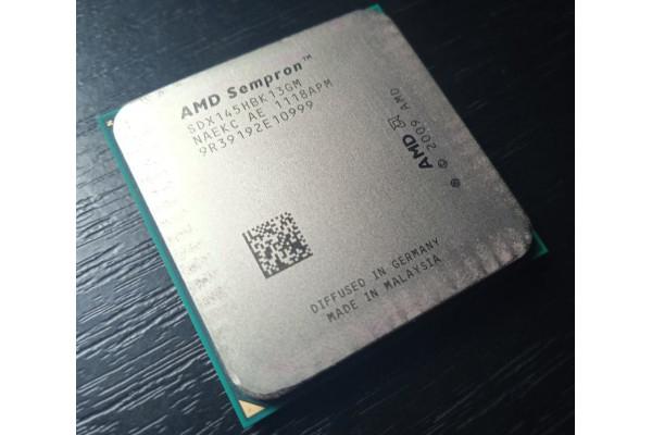 (Procesor Second-Hand) AMD Sempron 145 2,8GHz 1MB Socket AM2+ AM3 K10 Sargas (2009) [deblocat devine Athlon II X2 4450e Dual Core 2MB]